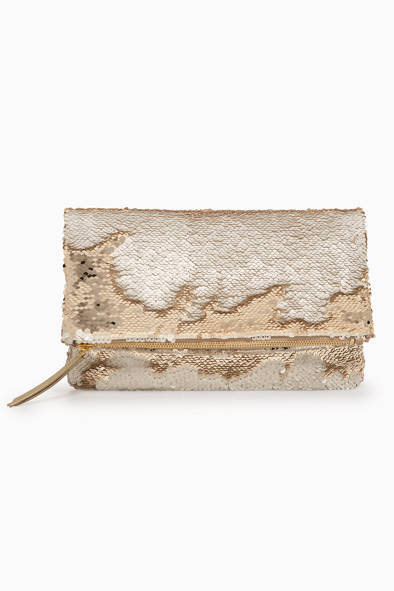 Bags Totes Travel Clutches Wallets Stella Do Dot Cream Walet 2in1 Margeaux Clutchoyster Gold Sequinssg199gld