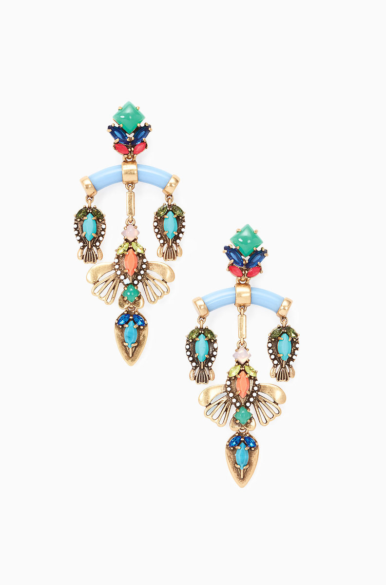 Colorful chandelier earrings stella dot stella dot cecily chandeliers e353g cecily chandeliers e353g arubaitofo Images