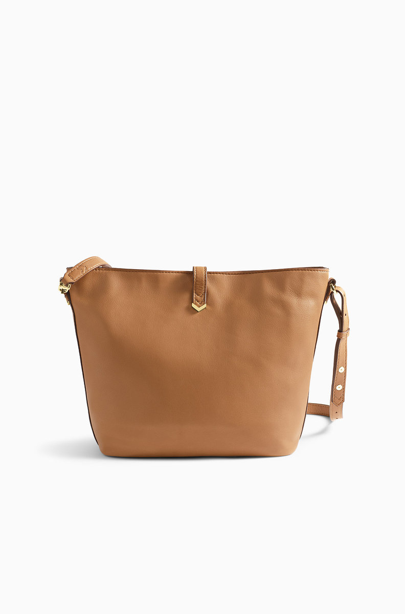 Covet Sunday Bag Saddle Leather Hb161sdl