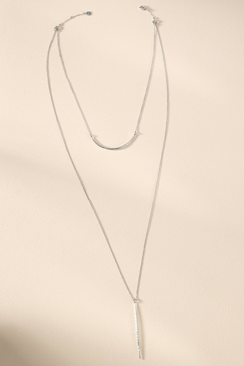 Silver Kari Layered Necklace Stella Dot