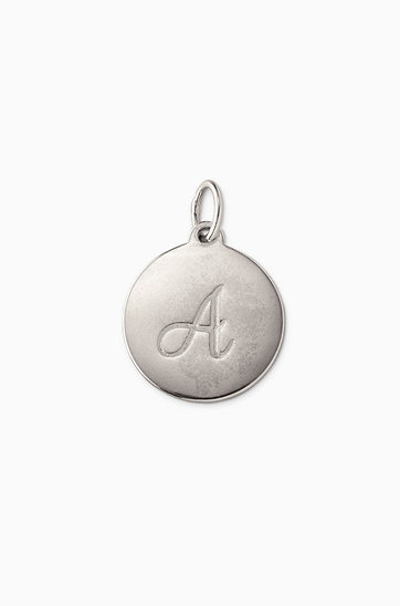 Sterling silver signature intial charms stella dot signature initial charm cas205 aloadofball Images