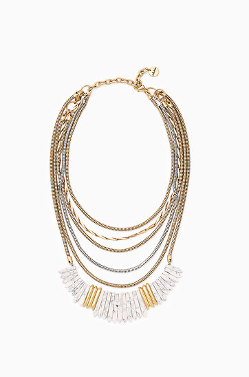home monroe jewelry dot statement necklace jewellery p stella