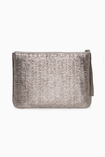 Pewter In Charge Pouch