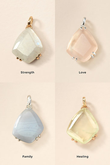 Intention Charms - Gemstones