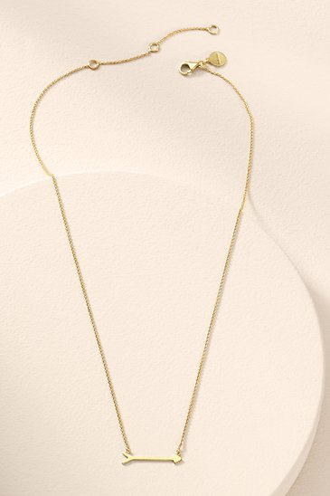 On the Mark Necklace - Gold