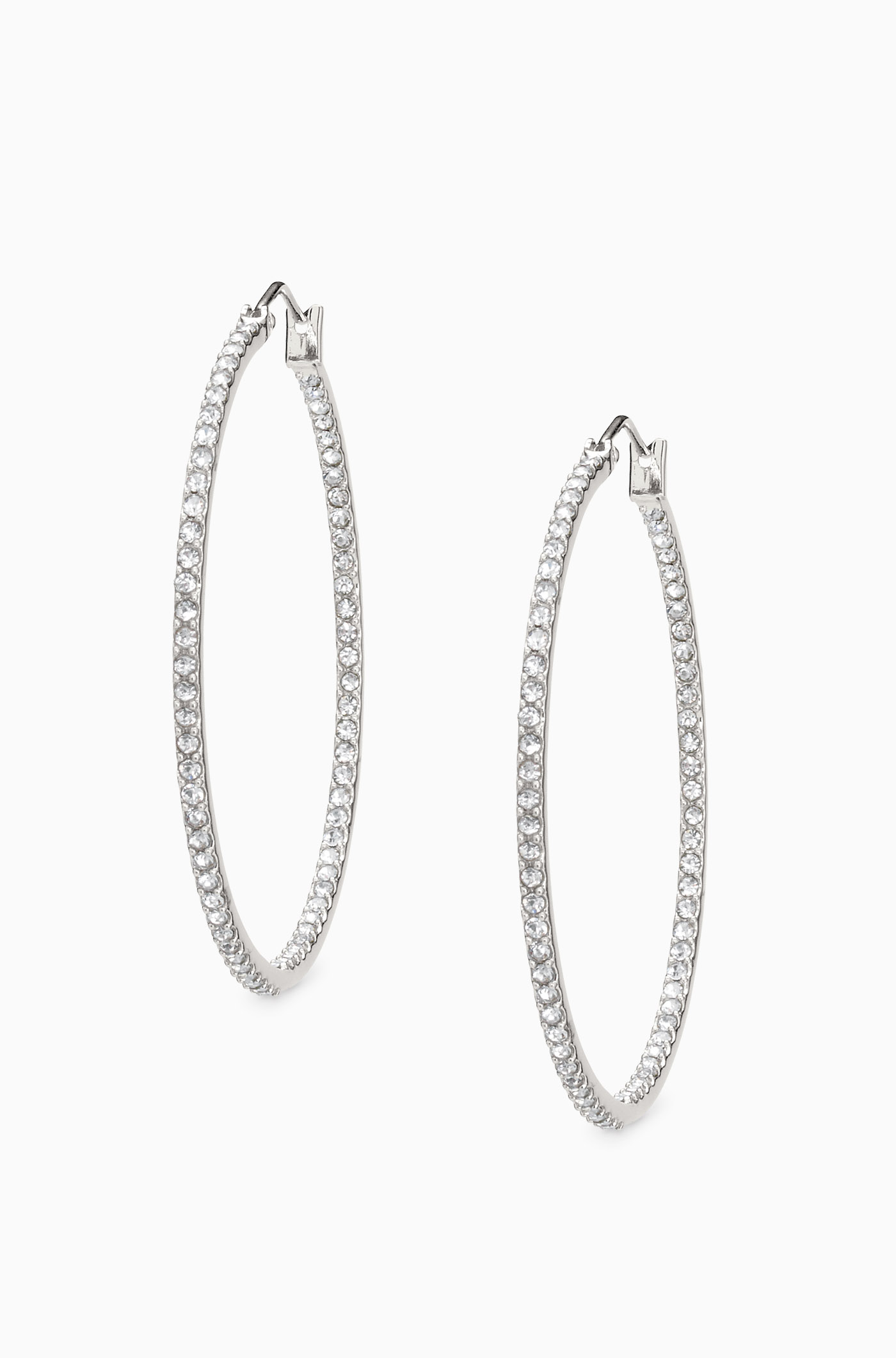 Gold Hammered Large Wire Hoop Earrings | Stella & Dot