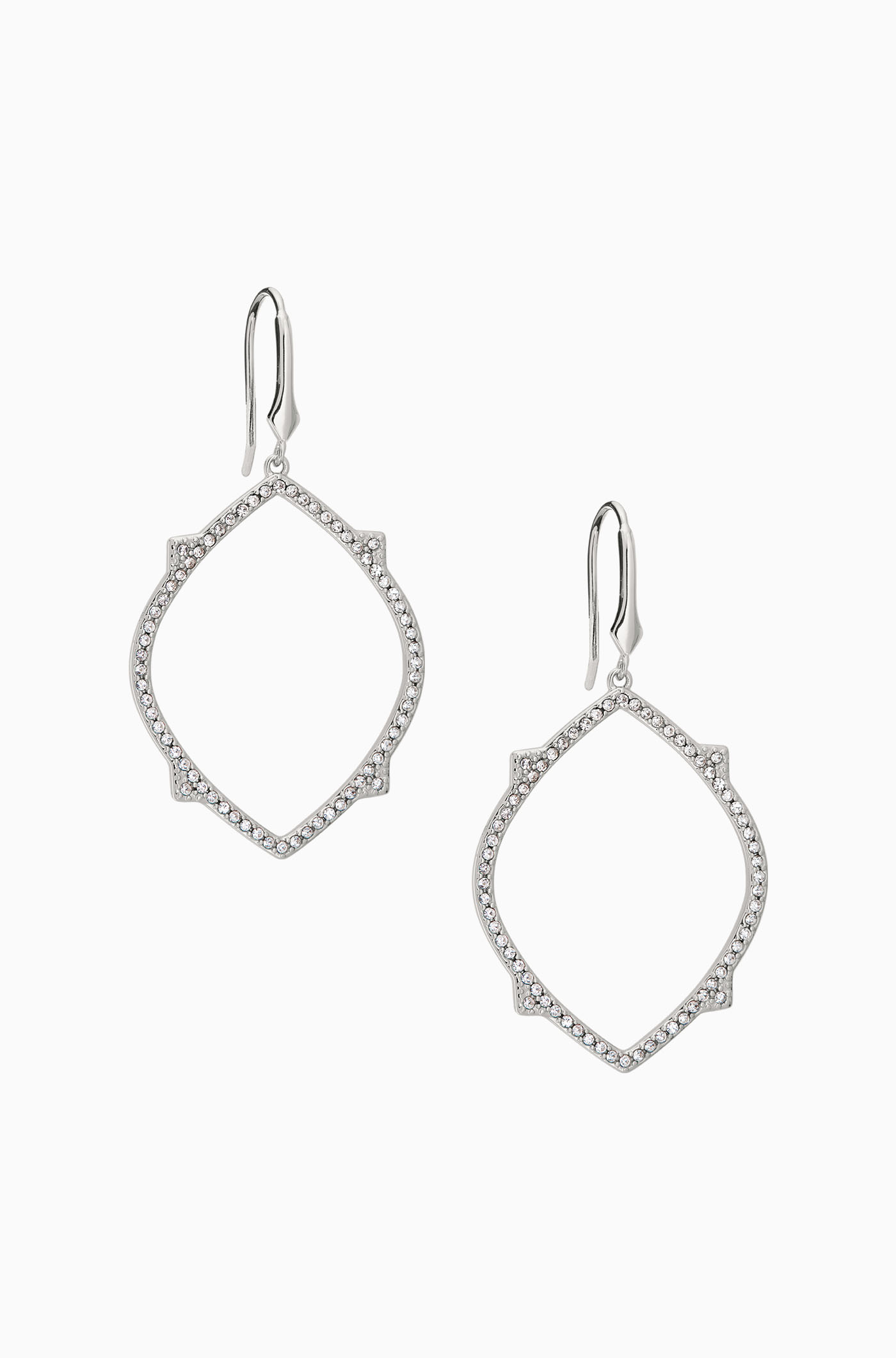 Bridal drop earrings chandelier earrings stella d stella dot pav open chandeliers silver e373s arubaitofo Image collections