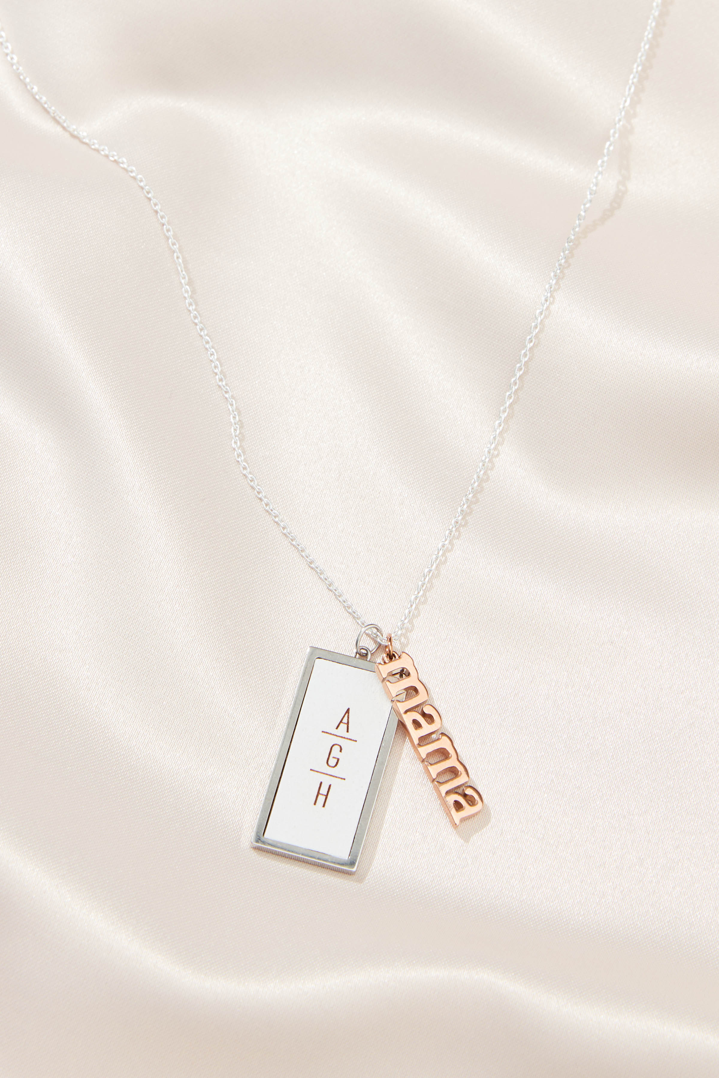 Mother's Day gift ideas: charm necklace