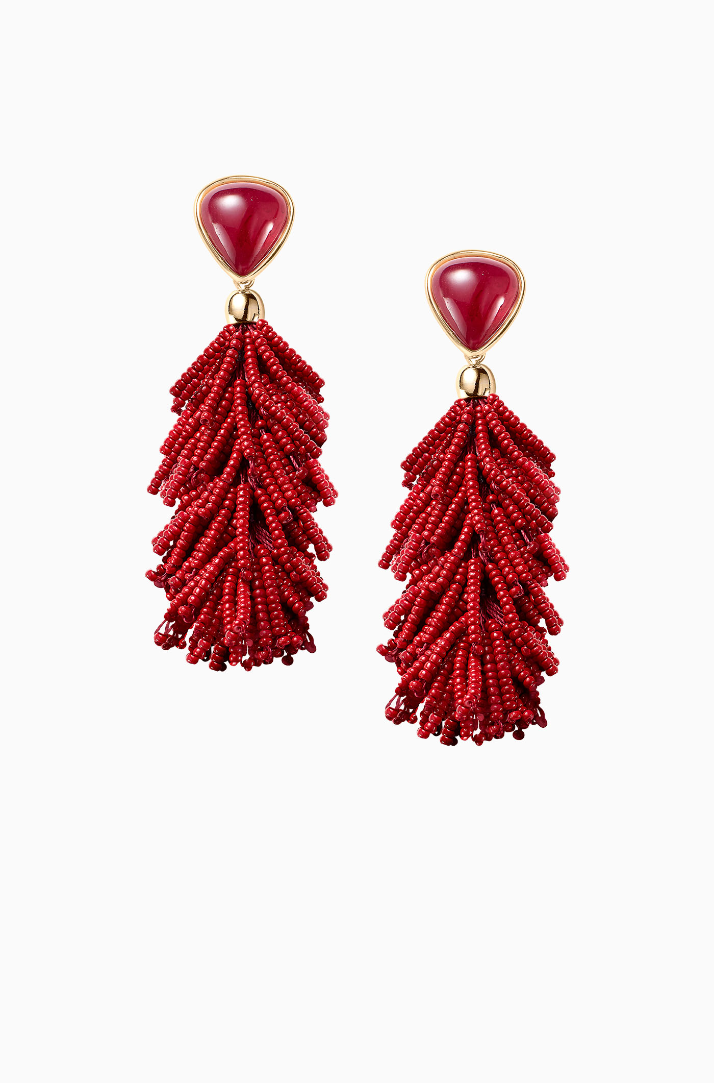 Stella and Dot Riva Tassel Earrings