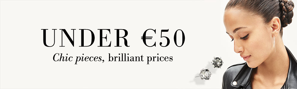 UNDER €50 - Chic pieces, brilliant prices.