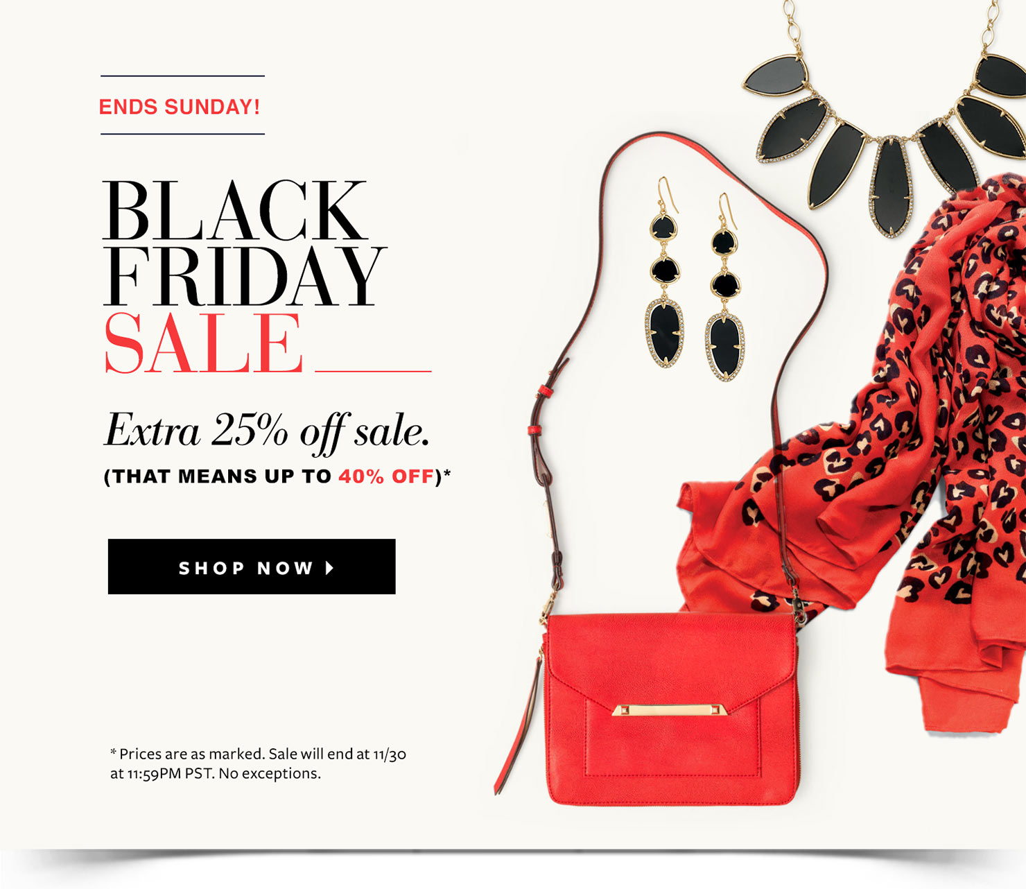 Stella & Dot Black Fri...