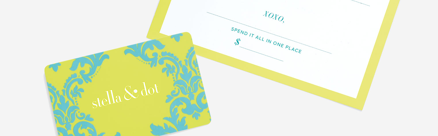 Jewelry Gift Cards