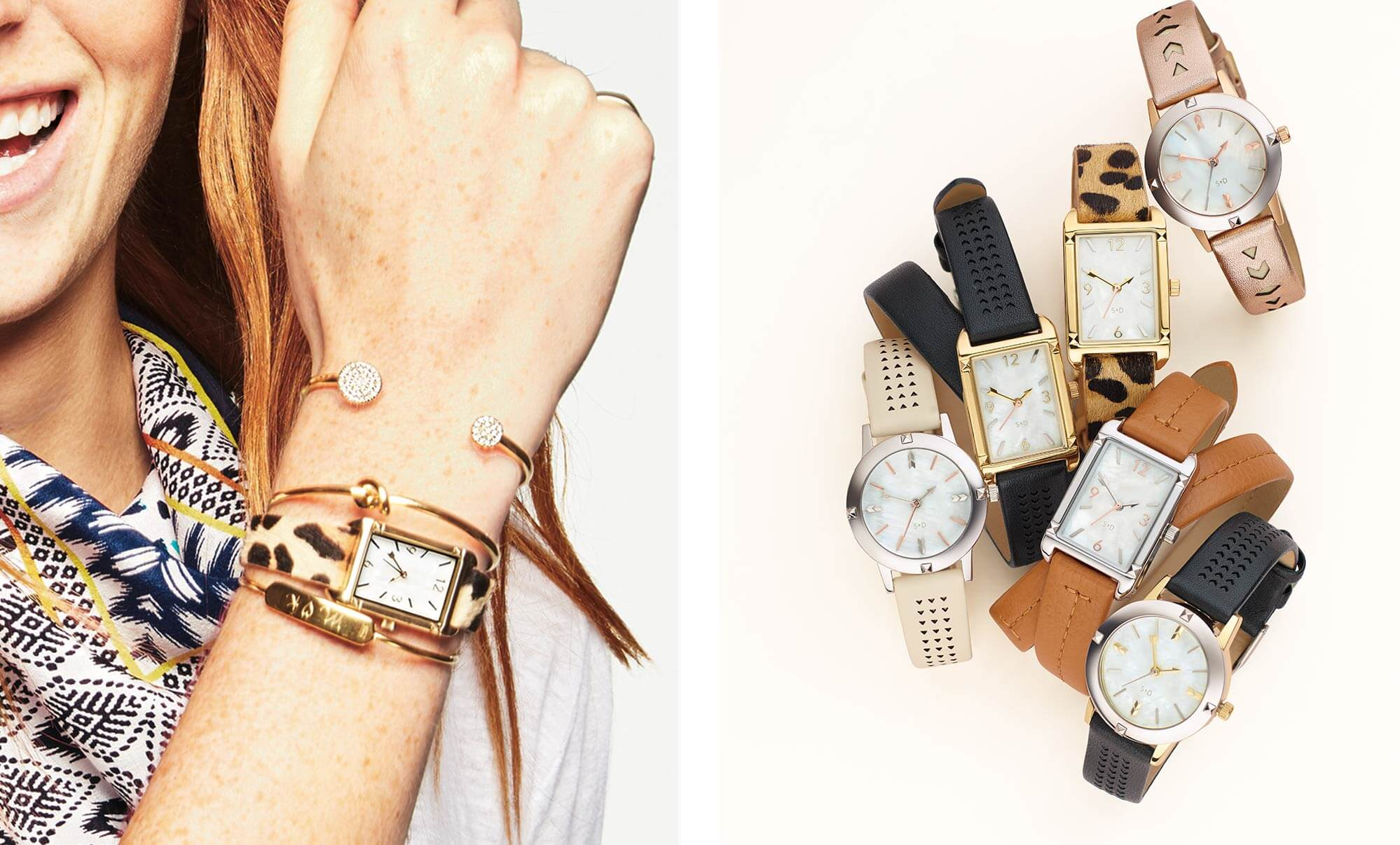 Stacked Bracelets And Watches Stella Dot